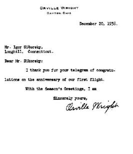 LETTER FROM DWIGHT D. EISENHOWER
